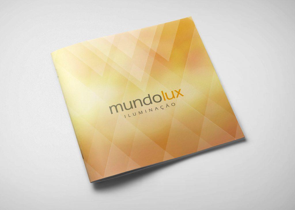 Capa catálogo Mundolux